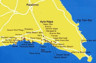Рубрика карты кипра