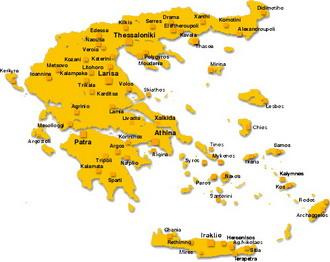 Рубрика карты греции